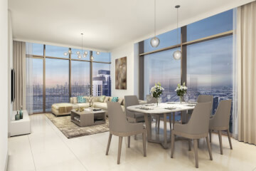 Hotel Apartments for Sale in The Address BLVD Sky Collection
