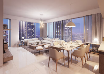 Hotel Apartments for Sale in Burj Vista 1