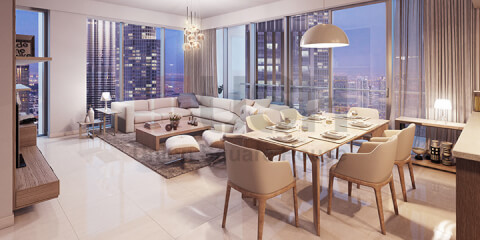Full Floors for Sale in Fountain Views Tower 1